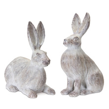 "More about the 'Rabbit (Set of 2) 15""H, 17""H Resin' product"