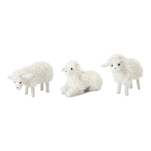"More about the 'Lamb (Set of 24) 3""H, 3.5""H, 4""H Polyester/Foam' product"