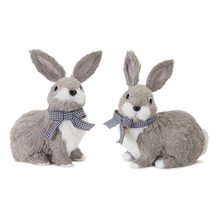 "More about the 'Rabbit (Set of 4) 7.5""H Polyester/Foam' product"