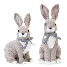 "More about the 'Rabbit (Set of 2) 14""H, 16""H Polyester/Foam' product"