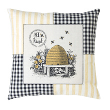 "More about the 'Bee Pillow (Set of 2) 18"" Polyester' product"