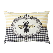 "More about the 'Bee Pillow (Set of 2) 17.5"" x 13"" Polyester' product"