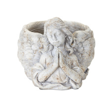"More about the 'Angel Planter (Set of 3) 6.5"" x 6""H Cement' product"
