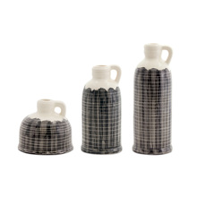 "More about the 'Jugs (Set of 3) 5""H, 8.5""H, 10.25""H Terra Cotta' product"