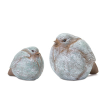 "More about the 'Bird (Set of 8) 3""H, 3.75""H Resin' product"