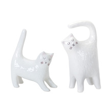 "More about the 'Cat (Set of 4) 5.5""H, 6.5""H Terra Cotta' product"