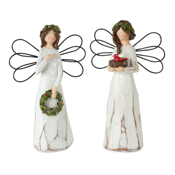 "Angel (Set of 6) 7""H Resin"