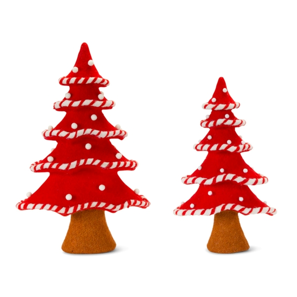 "Tree (Set of 2) 17""H, 21""H Foam/Fabric"