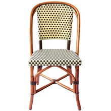 More about the 'St. Germain Rattan Bistro Chair - Ivory/Brown' product
