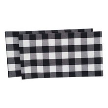 Franklin Black/White Table Runner