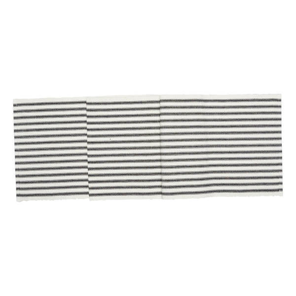 C&F Ticking stripe runner