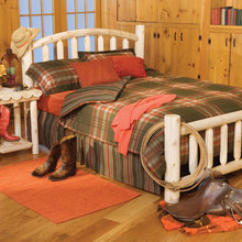 Log Cabin Bed - Arched