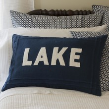 Indigo Lake Pillow