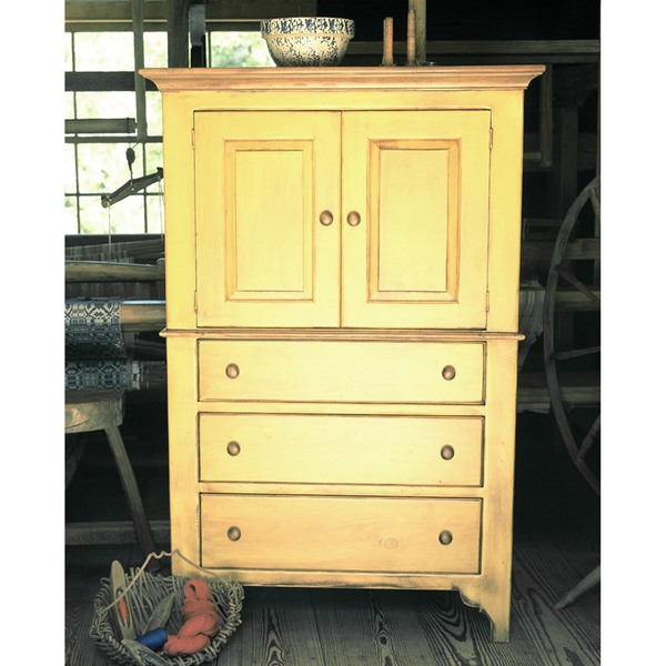 Southern Pine Concord Door Chest