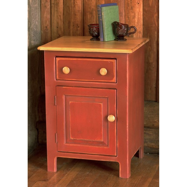 Southern Pine Highland Bedside Chest