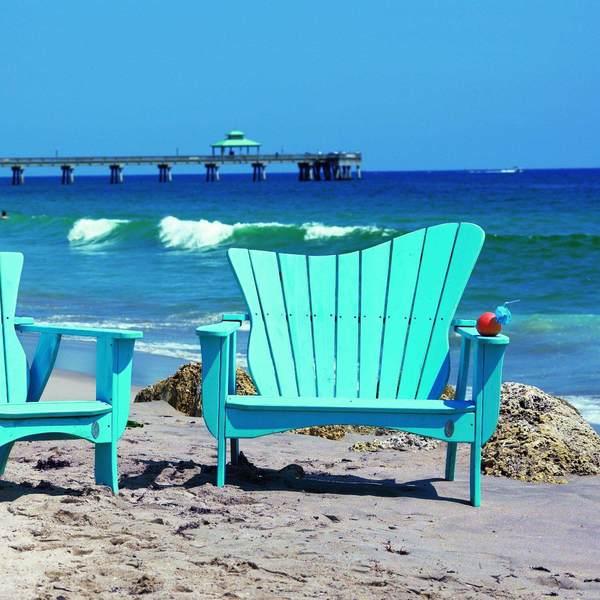 Sarasota Outdoor Kitchens: Sarasota Wave Settee