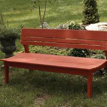 More about the 'Behren Four Seat Bench W/Back' product