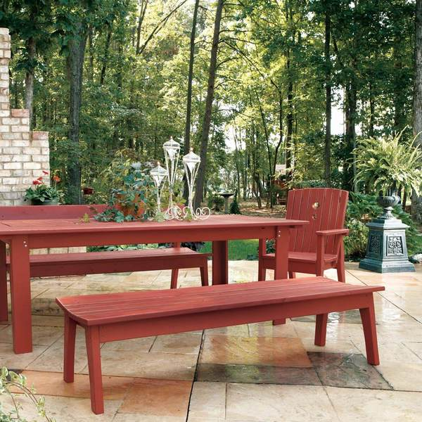 Behren Four Seat Bench