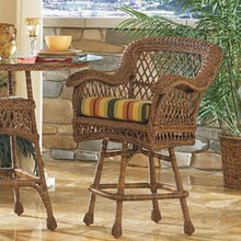 Chesapeake Swivel Barstool with Arms