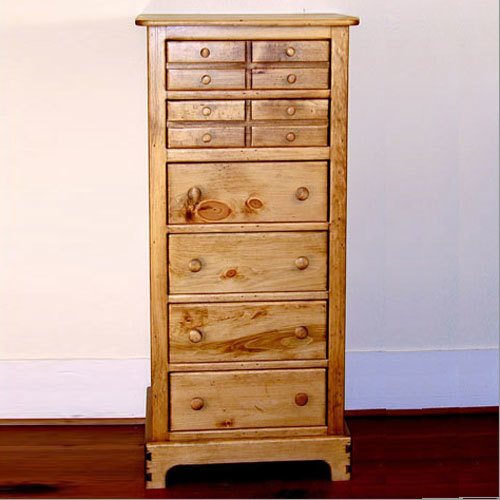 Southern Pine Wilmington Lingerie Cabinet
