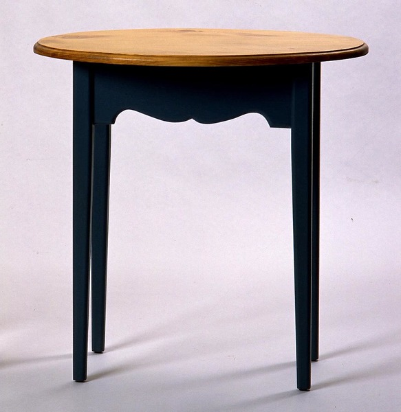 Southern Pine Oval End Table