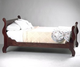 Southern Pine Sleigh Bed