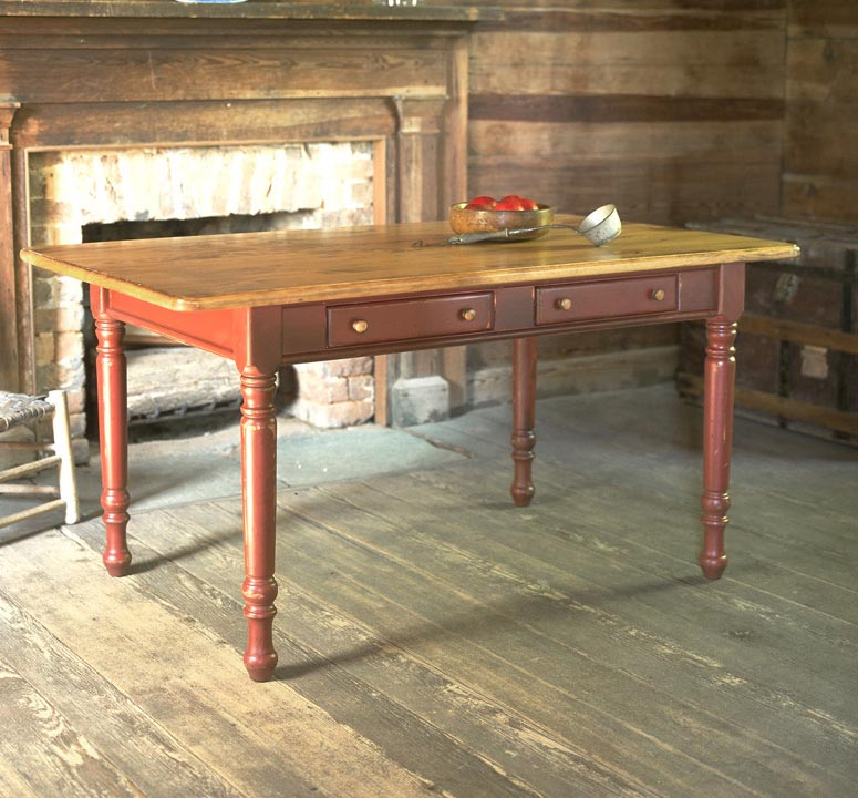 Southern Pine 4u0027 Farmhouse Table