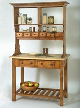 More about the 'Southern Pine Kitchen Workbench w/ Butcher Block Top' product