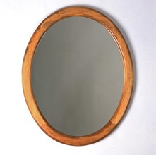More about the 'Southern Pine Oval Mirror' product