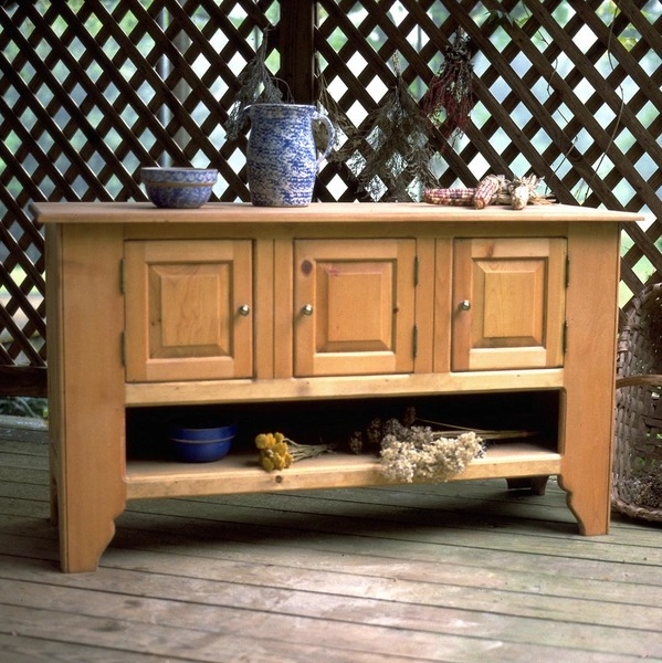 Southern Pine Tuscany Sideboard