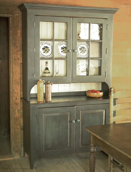 Southern Pine New Lebanon Hutch American Country