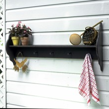 Southern Pine Shaker Plate Rack w/Pegs