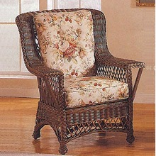 Rockport Wicker High Back Chair