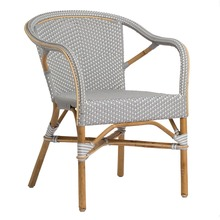 More about the 'Madeleine Arm Chair by Sika Grey with White Dots' product