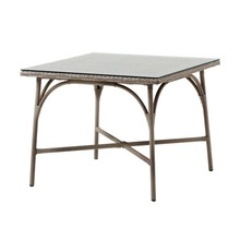 More about the 'Victoria Square Dining Table By Sika in Antique w/Glass Top' product