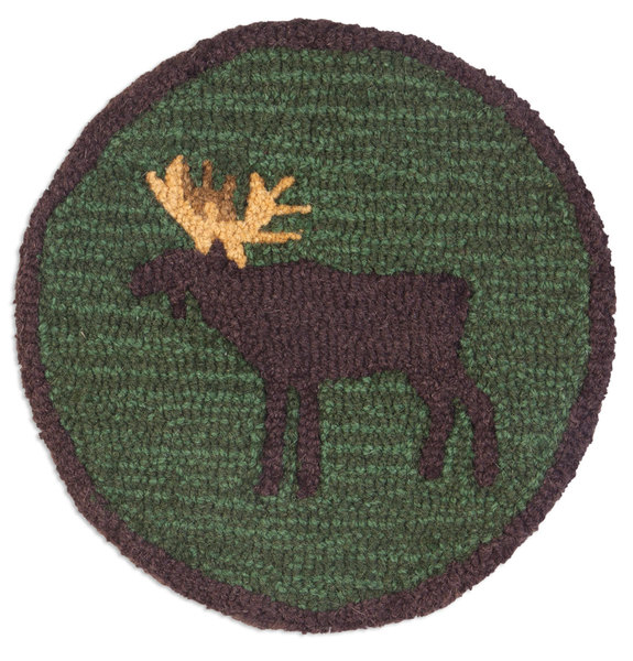 Wondering Moose Wool chair pad