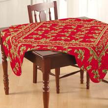 Holly Red Table Topper