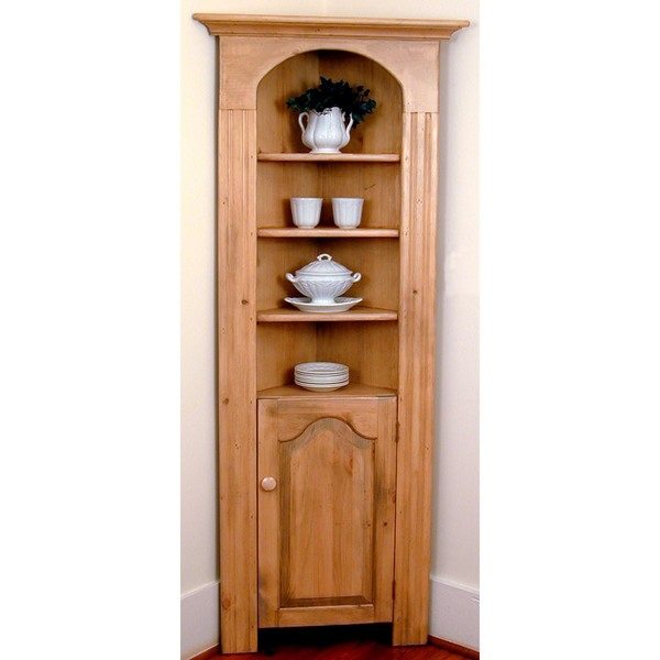 Southern Pine Corner Cupboard | American Country
