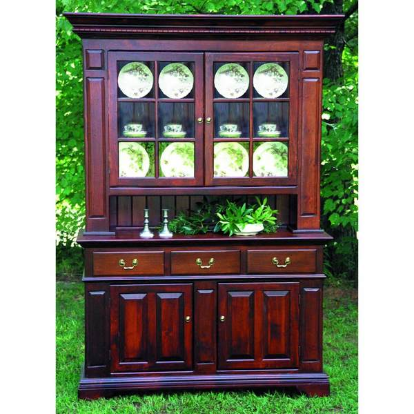 Southern Pine Hampton China Hutch