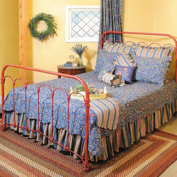 . Original Cast Iron Bethany Bed   American Country
