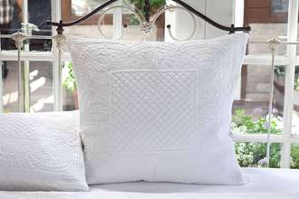 More about the 'Taylor Linens Abagail White Euro Sham' product