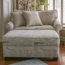 Alexandria Slipcovered Chair 1/2