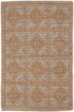 Alpine Diamond Slate Woven Wool Rug