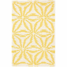 Aster Gold Hooked Wool Rug by Dash & Albert