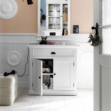 Small buffet in painted white