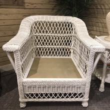 Bar Harbor Arm chair frame in white
