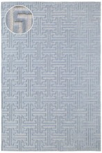 Beekman Delphinium Knotted Wool Rug