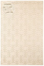 Beekman Ivory Knotted Wool Rug