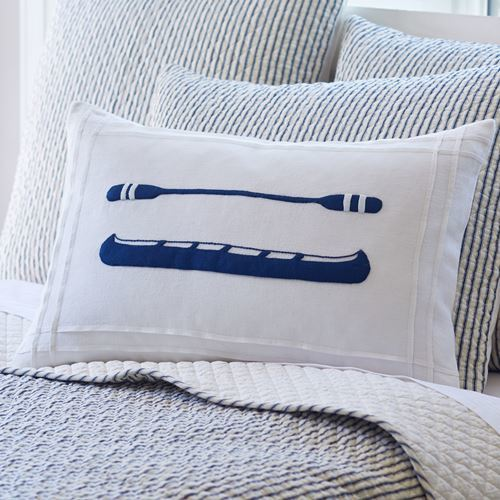 Bergen Indigo River Canoe Pillow