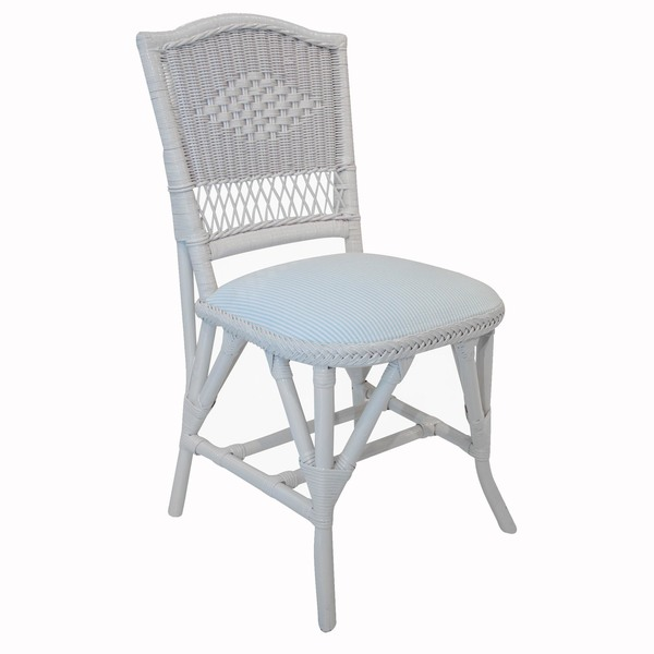 Diamond Bistro Chair with Padded Seat